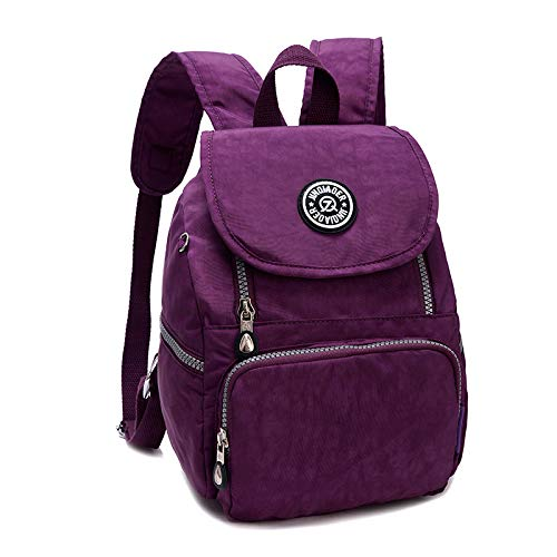 Echofun Nylon Mini Casual Waterproof Backpack Shoulderbag Rucksack Travel Bag Daypack for Girls Womens