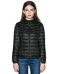 CHERRY CHICK Women's Packable Ultralight Down Jacket