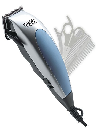 - Wahl HomePro 22-Piece Complete Haircut Kit with Self-Sharpening Steel Blades, Thumb-Adjustable Taper Control & 10 Guide Combs, Scissors, Multiple Styling Combs and Hard & Soft Case Included