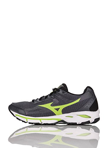 Mizuno Scarpa Sportiva Wave Resolute 2 Grigio/Lime EU 44.5 (US 11)