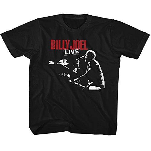 Joel Tour 81 Âge À American shirt Classics Billy Bas Manches Noir Enfant Courtes Tee Fille Pour En q778EC