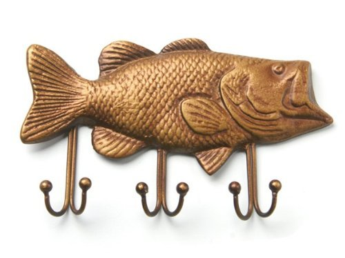 Bass Fish Key Holder, Fish Key Hook