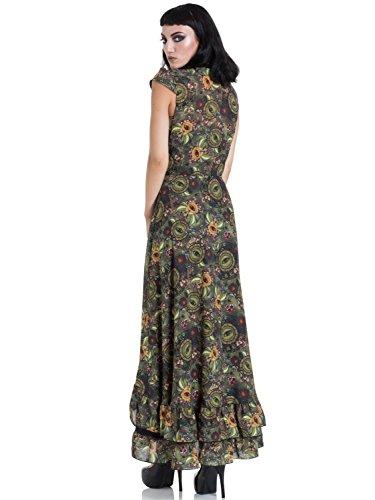 High Jawbreaker Kleid 8508 Mystic Maxi Dress Grün Low Dark q4wIHZ46