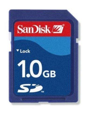 Sandisk 1GB SDSDB-1024 or SDSDJ-1024 (BXP-S) SD Secure Digital Card