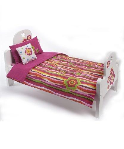 (Madame Alexander Favorite Friends Wood Bed Set for 18 Dolls by Madame)