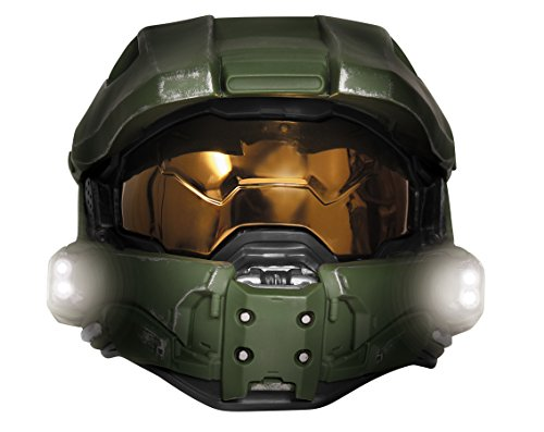 Disguise Men's Master Chief Adult Light-up Deluxe Helmet, for sale  Delivered anywhere in USA