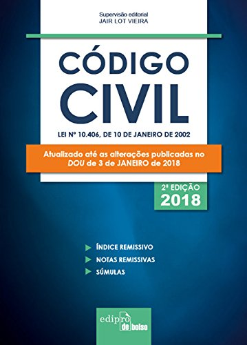 Mini Código Civil. 2018