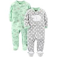 [Sponsored]Baby 2-Pack Fleece Footed Sleep and Play