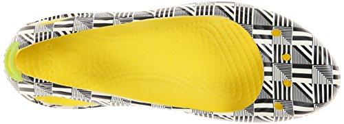 Ballerines Pour Crocs Multicolore Femme Burst npygwdw0q