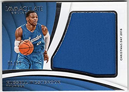 quality design a118d 0b172 Amazon.com: Russell Westbrook 2017-18 Panini Immaculate ...