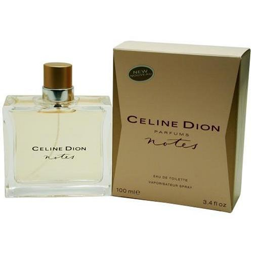 Celine Dion Notes By Celine Dion For Women. Eau De Toilette Spray 3.4 oz Celine Dion Parfum Spray