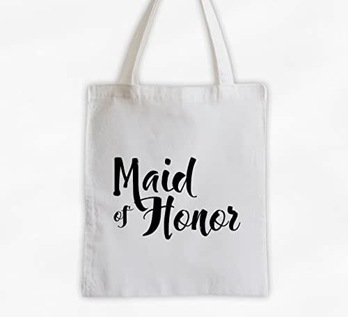 Wedding Attendants Gifts: Amazon.com: Maid Of Honor Cotton Canvas Tote Bag