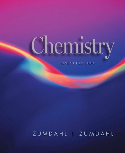 Chemistry: Student Solutions Guide, Seventh Edition