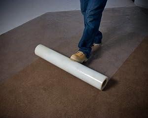carpet protector film. carpet protection film self adhesive floor protector no streak clear 60cm x 100m