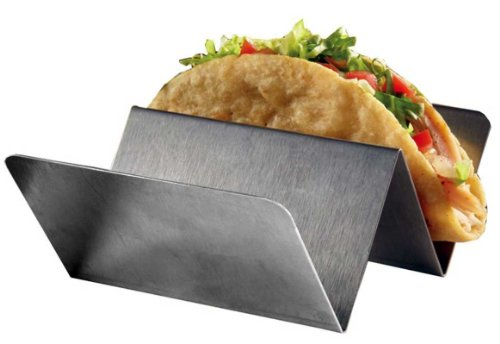 Stainless Taco Holders, 4 Piece Pack by RiversEdge Products