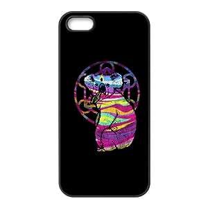 iPhone 5 5s Cell Phone Case Black Enlightened koala SIA Design Plastic Phone Case