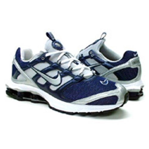 special section clearance sale new release Amazon.com | Nike Mens Shox 2:45-309470 441 Navy/Silver | Shoes