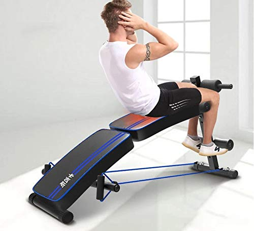 GaoMiTA Supine Board Double Folding Safety and Comfort Home Multi-Function Board Men and Women Reduce Abdominal Abdomen Fitness Equipment by GaoMiTA (Image #5)