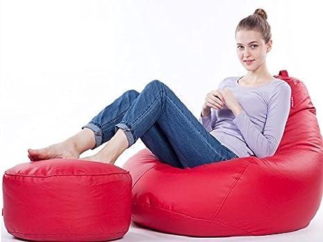 Awesome Amazon Com Beanbag Arm Chair Cover Adult Gaming Bean Bag Machost Co Dining Chair Design Ideas Machostcouk