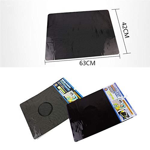 SaveStore car Styling Uv Sticker Car Sunshade electrostatic Stickers 6342cm auto Supplies Sun Block Sun-Shading Stickers Ford
