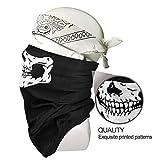 Neck Gaiter Face Cover Ski Mask, Face Mask for Wind