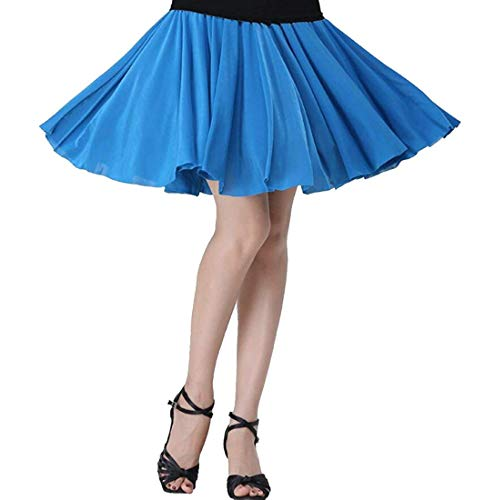 Balza Pieghe Da Home Vita Dress Alta Uomo Corta Con color Size Xs Bassa A Girls Gonna Blue Lake xW8n7qHw0w