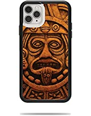 MightySkins Skin for Lifeproof Slam Case iPhone 11 Pro Max - Carved Aztec   Protective, Durable, and Unique Vinyl Decal wrap Cover   Easy to Apply, Remove, and Change Styles   Made in The USA