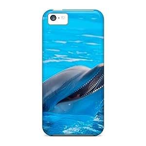 TxmIrYd3004wcsoI Faddish Cute Dolphins Case Cover For Iphone 5c