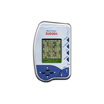 Multiplayer Sudoku Electronic Puzzles Hand Held- 3 Levels