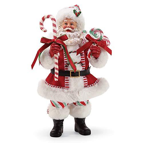 Department 56 Possible Dreams Santas Peppermint Figurine 10.5