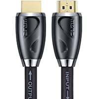 HDMI Cable 85 Feet by MINC -Built-in Signal Booster -24AWG,CL3 -Supports 4K 3D and ARC with Ethernet -24K Gold Plated Connector and Quality Braided Cord