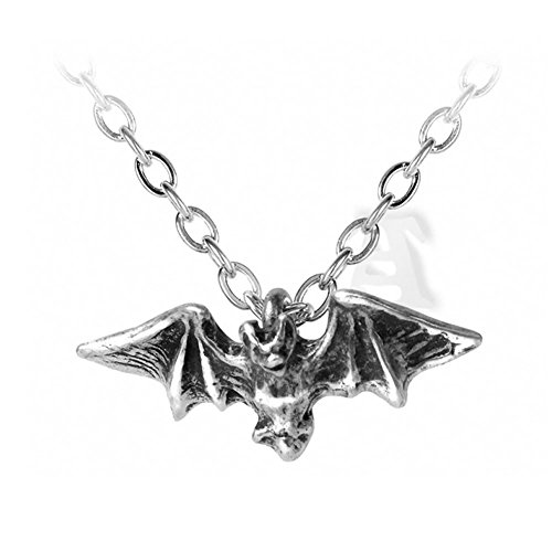 Alchemy Gothic Halloween Party P598 Kiss of The Night Pendant]()