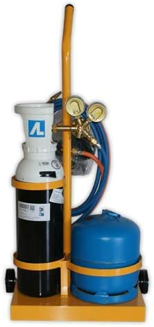 DOJA Industrial   Equipo soldadura BUTA-5 oxi-butano   Autogenas 5l (Oxigeno) 2.8l (Butano)