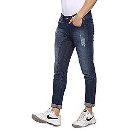 Buy Campus Sutra Men Cut and Sew Denim Jeans India 2021