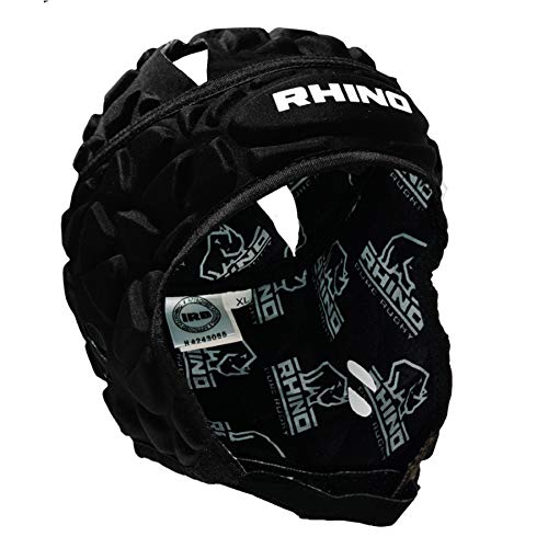 (RHINO RUGBY Soft Shell Forcefield Pro Scrum Cap Head Guard (Small))