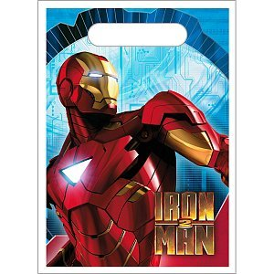 Iron Man 2 Favor Bags  8Ct