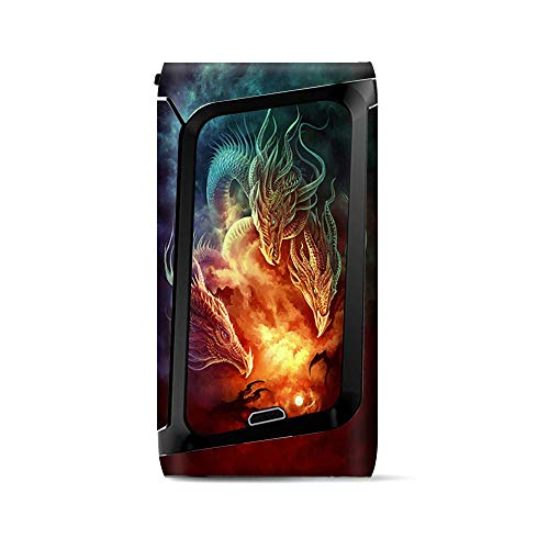 Skin Decal Vinyl Wrap for Smok Morph 219 Kit | Vape Stickers Skins Cover| Dragons Fireball Magic