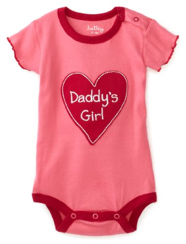 Hatley   Baby Girls' Daddy's Girl One Piece Bodysuit