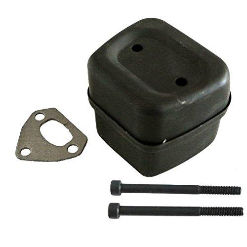 JRL Exhaust Muffler Gasket Bolts Kit For Husqvarna 142 136 137 141 36 41 #545006044