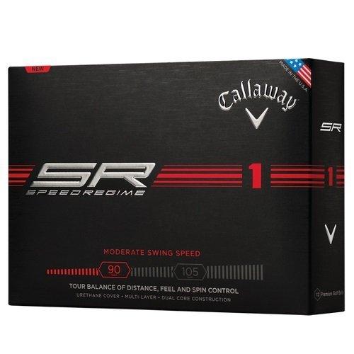 NEW 6 Dozen Callaway Speed Regime 1 SR1 Golf Balls