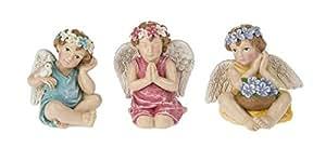 Miniatura Jardín de hadas Mini ángeles–Juego de 3