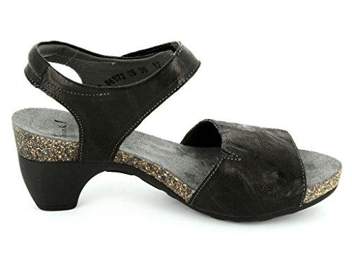 Think Traudi 86572–09Femme Sandales & Pantolette dans moyen Noir - Noir sARDJLQm