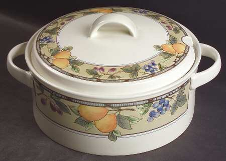 - Mikasa Garden Harvest Tureen & Lid, Fine China Dinnerware