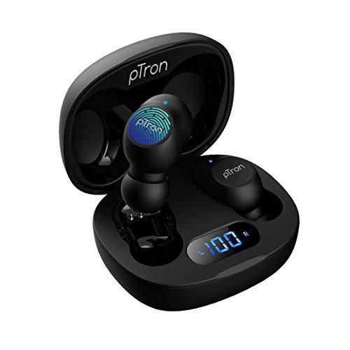pTron Bassbuds Pro (New) In-Ear True Wireless Earbuds