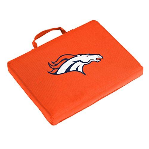 Logo Brands NFL Denver Broncos Bleacher Cushion, One Size, - Nfl Denver Stadium Broncos