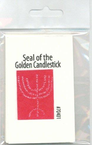 (Talismanic Seal of the Golden Candlestick * Sello Talismánico del Candelabro Dorado)