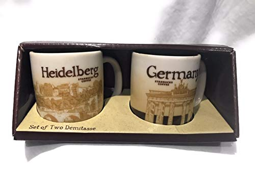 Demitasse Germany (Starbucks Heidelberg and Germany Demitasse Ceramic Mug Set)