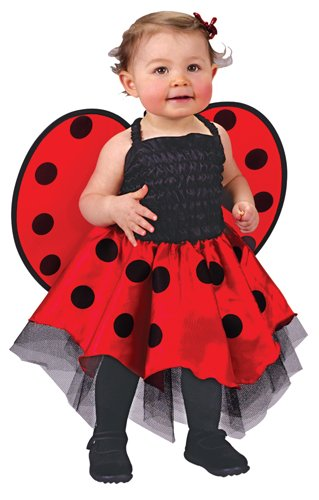 [Ladybug Costume Baby One Size Fits Up To 24 Months] (Lady Bug Toddler Child Costumes)