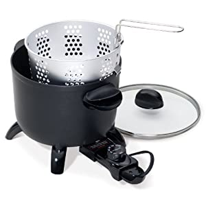 Amazon.com: Presto 06006 Kitchen Kettle Multi-Cooker