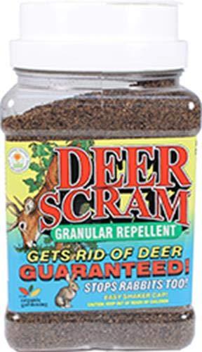 (Enviro Pro 1003 Deer Scram Repellent Granular Shaker Can, 2.5 Pounds)